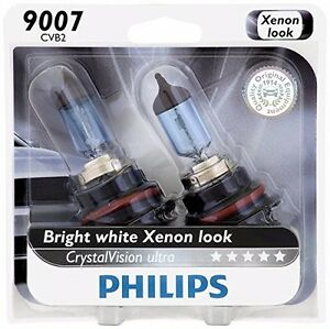 Philips 9007 Upgrade Crystal Ultra Vision Hb5 Halogen Light Bulb 65w 55w Germany