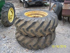 John Deere 820 1020 2020 2030 2040 1520 1530 Tractor Rear Wheels