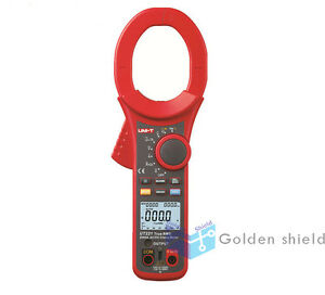 Uni t Ut221 2000a True Rms Digital Clamp Meter Dc Ac Volt Amp Ohm Frequency Test