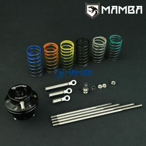 Mamba Universal Turbo Adjustable Wastegate Actuator W 6 X Spring 4 X Rod