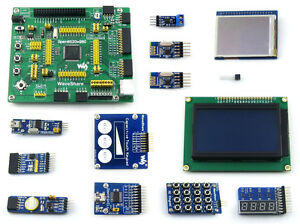 Stm8s208mb Stm8 Development Evaluation Board touch Keypad 2 2 lcd 10 Modules