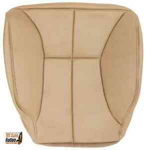 2000 2001 2002 Dodge Ram 1500 2500 3500 Driver Bottom Vinyl Seat Cover Tan