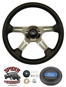 1963 1964 Ford Galaxie Fairlane Steering Wheel 14 Four Spoke