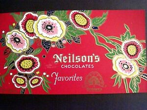 Vintage Art Deco Style Label For Candy Boxes Neilson S Favorites Chocolates