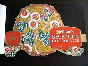 Vintage Art Deco Style Labels For Candy Boxes Neilson S Reception Chocolates
