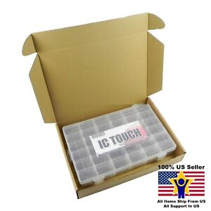 36value 3600pcs Ceramic Capacitor Disc 50v Assortment Box Kit Us Seller Kitb0055