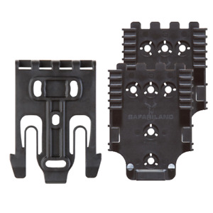 Safariland Quick kit4 2 Black Quick Locking System For Holster accessory Qls22l