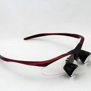2 5x Dental Loupes Binocular Medical Loupe Customized Surgical Magnifier Glass
