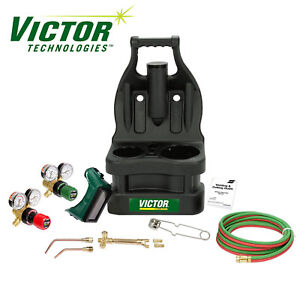 0384 0945 Victor Portable Tote Torch Kit For Brazing Soldering Without Bottles