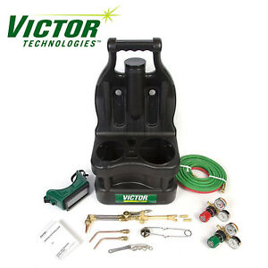 0384 0947 Victor Portable Tote Torch Kit Set Cutting Outfit Without Cylinders