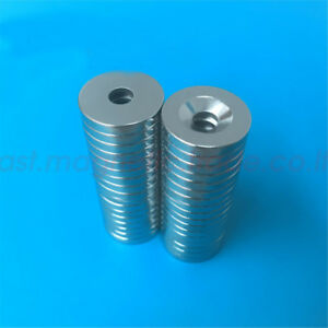 Wholesale 3 4 X 1 8 Countersunk Hole 5mm Strong Disc Neodymium Magnet N38