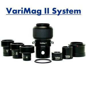Varimag Ii For Canon Eos Dslr Microscope Camera Adapter Mount New In Case