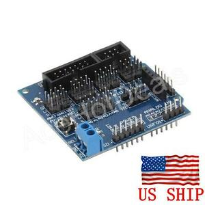 Sensor Shield V5 V5 0 For Arduino Apc220 Bluetooth Analog Module Servo Motor