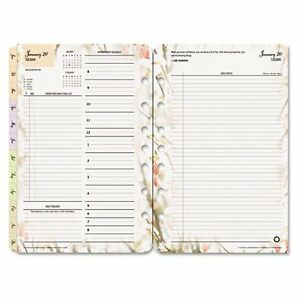 Franklin Covey Blooms Garden Design Classic Planner Refill 35444