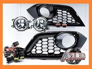 For 16 17 18 Scion Toyota Im Fog Lights Clear Lens Complete Switch Wiring Kit