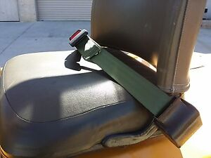 Forklift Seat Lap Belt Universal Single Point Retractable Seat Belt Equipment