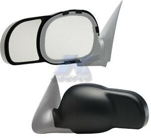 1997 2002 Ford Expedition F150 Exterior Towing Snap On Side Mirror Extension Set