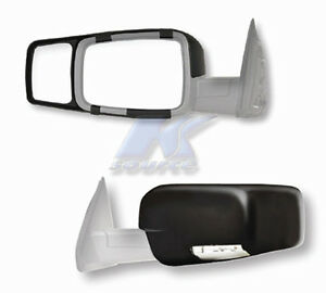2009 2018 Dodge Ram Exterior Towing Lh Rh Snap On Side View Mirror Set