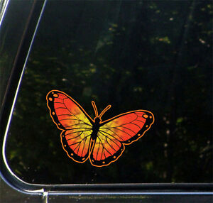 Clr Car Butterfly Vinyl Car Decal Sticker Yydc 6 5 W X 4 H Color Choices