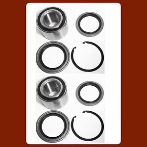 Front Hub Bearing Seal W snap For Toyota Tundra 2000 2006 Kit 8 Pieces