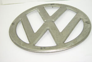 Front Nose Emblem 317mm Vw Would Have Fit A Type2 Bus Transporter 1950 1967