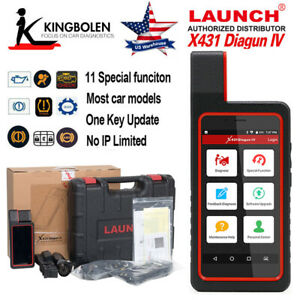 Launch X431 Diagun Iv Bi directional Automotive Diagnostic Tool Can Obd2 Scanner