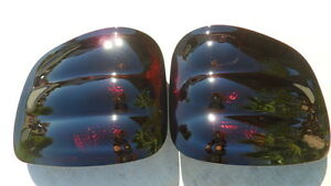 Custom 00 03 F150 Flareside Smoked Tail Lights Oe Black Tinted Non Led Ford