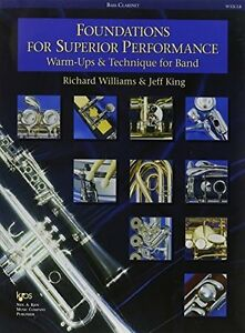 FOUNDATIONS FOR SUPERIOR PERFORMANCE BASS CLARINET MUSIC BOOK BAND BRAND NEW!!