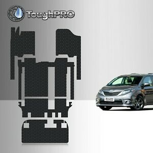Toughpro Heavy Duty All Weather Floor Mats Set For 2011 2019 Toyota Sienna