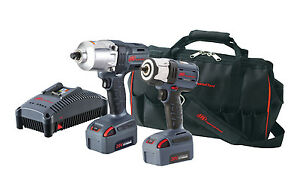 Ingersoll Rand Iqv 20v 3 8 1 2 High Torque Impact Wrench Combo Ir Iqv20 2062