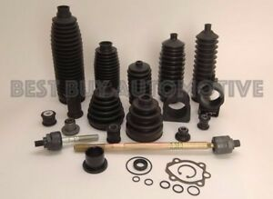 Cv Axle Inner Outer Boot 6 Piece Kit bmw 318i 1992 98 in Stock 4 Clamps rear