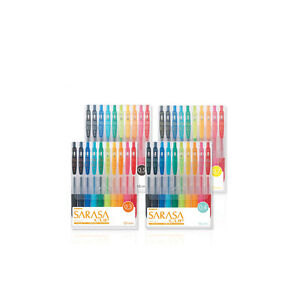 Zebra Jjh15 10c jjs15 10c jj15 10c jjb15 10c Gel Pens 10x Per Pack 4packs mix