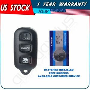 Replacement For Toyota Sequoia 2001 2002 2003 2004 2005 2006 2007 2008 Remote