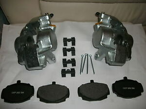 Mgb Calipers 1962 80 Mgb Gt Set 2 New Brake Calipers Pads Retainers Pins