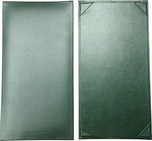 25 Single Panel Menu Covers 11 X 5 5 In Green pza 130grp p