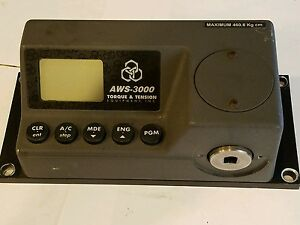 Aws Aws 3000 Uts 3050 Bench Mount Torque Tension Tester Max 460 8 Kg Cm Rs 232