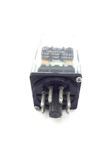 24vdc 10 Amp Relay Double Pole Double Throw Dpdt 8 Pin Octal