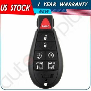 Replacement For 2008 2009 2010 2011 2012 Chrysler Town And Country Key Fob Case