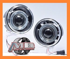 05 09 Chrysler 300c Halo Projector Fog Lights Clear Front Bumper Lamps Pair