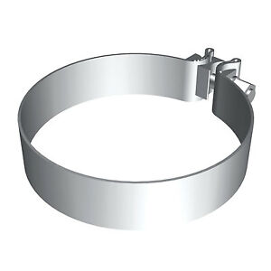 Magnaflow 10167 Stainless Steel 5 Exhaust Band Clamp 10 pack