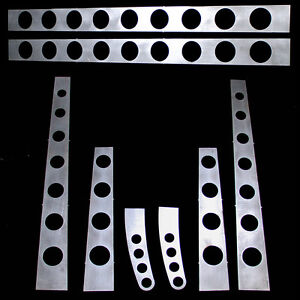 Model A Ford Frame 3 16 Boxing Plates With Easy To Weld Tabs 28 31 Drilled