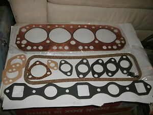 Mga Head Gasket Set 1955 1962 All Upper Engine Gaskets metropolitan mg Magnette
