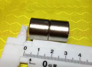Wholesale 3 4 X 5 8 Hole 8mm Cylinder Strong Neodymium Rare Earth Magnet N42