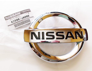 2007 2012 Nissan Altima Front Radiator Grill Grille Chrome Emblem Decal Oem New