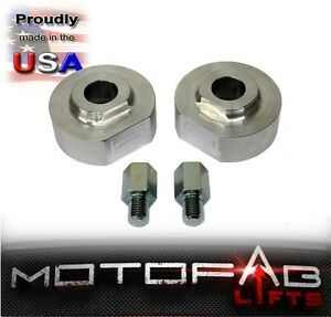 2 Front Leveling Lift Kit For 99 18 Ford F250 F350 2wd Billet Made In The Usa