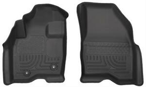 Husky Weatherbeater Liners Black Front Floor Mats For 15 17 Ford Explorer 13771