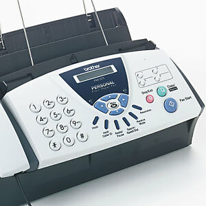 New Brother Fax 575 Personal Plain Paper Fax Phone Copier