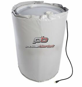 Drum Heater Barrel Heater Powerblanket Bh55rr 80 55 Gallon Drum Heating Blanket