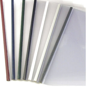 21mm Bordo 100pcs Unibind Steelmat Frosted Covers