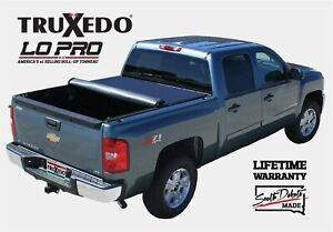 Truxedo Lo Pro Qt Soft Roll up Tonneau Cover Toyota Tundra 6 3 Bed W o Bed Caps